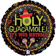 "Holy Guacamole Happy Birthday 18"" Foil 