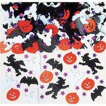 Halloween Night Ghosts Pumpkins Party Table Confetti | Decoration