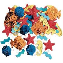 Sea Life | Fish | Seahorse | Shell Party Table Confetti | Decoration