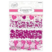 Bright Pink Wedding 'I Do Confetti' Table Confetti | Decoration
