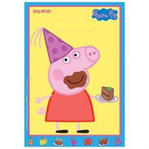 Peppa Pig Cake Party Favour Loot Bags