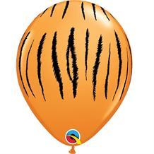 "Tiger Stripes 11"" Qualatex Latex Party Balloons"