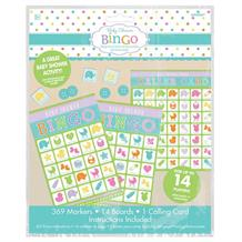 Baby Shower Party Bingo Game