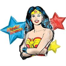 Wonder Woman Shaped Foil | Helium Balloon