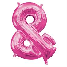 "Anagram 16"" Pink And Symbol Foil Balloon"