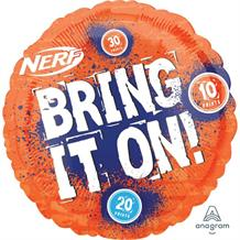 "Nerf Bring it On 18"" Foil Balloon"
