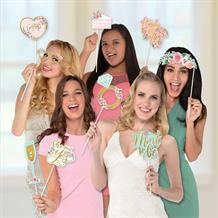Mint To Be Hen Party & Engagement Photo Props