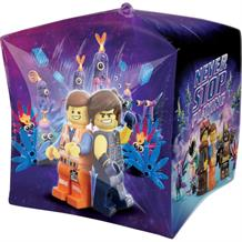 Lego Movie 2 Square Cube Foil | Helium Balloon