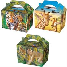 Zoo Party Card Favour | Food Box