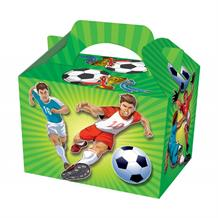 Football Striker Party Card Favour | Food Box