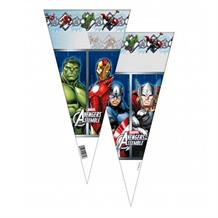 Marvel Avengers Party Sweet Cones | Cello Loot Favour Bags