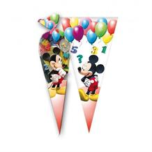 Mickey Mouse Party Sweet Cones | Cello Loot Favour Bags