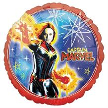 "Captain Marvel 18"" Foil 