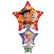 Toy Story 4 Woody | Forky | Buzz | Bo Peep Giant Foil | Helium Balloon