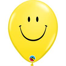 Yellow Smiley | Smile Face Party Latex Balloons