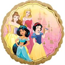 "Disney Princesses Gold 18"" Foil 