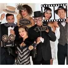Hollywood | Movie Photo Booth Party Props
