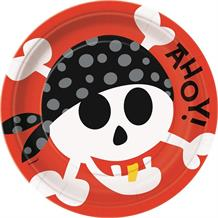 Pirate Fun Party Plates