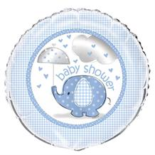 Blue Elephant Baby Shower Foil | Helium Balloon