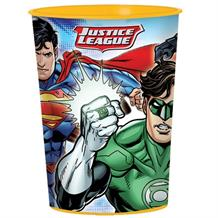 Justice League Plastic Party Favour Cup
