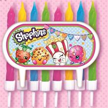 Shopkins Party Cake Candles Set