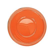 Orange Plastic 18cm Party | Dessert Bowls