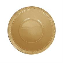 Gold Plastic 18cm Party | Dessert Bowls