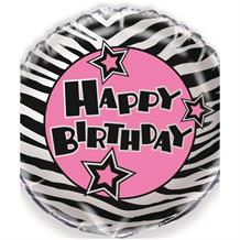 "Zebra Passion Party 18"" Foil 