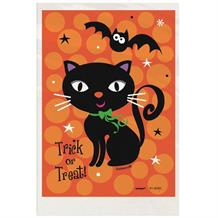 Trick or Treat Halloween Black Cat Favour Bags