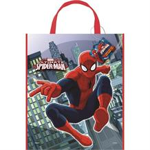 Spiderman Party Tote Favour Bag