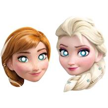 Disney Frozen Card Party Mask Favours