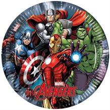 Marvel Avengers Power Party Plates