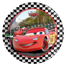Disney Cars RSN Party Plates