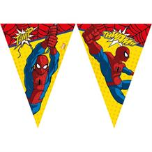 Ultimate Spiderman Party Flag Banner | Bunting