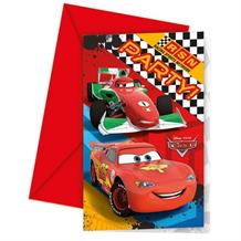 Disney Cars RSN Party Invitations | Invites