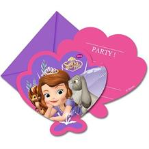 Sofia the First Pearl Party Invitations | Invites