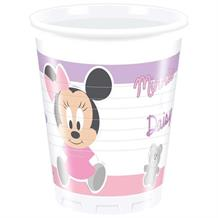 Minnie Mouse Baby Girl | Daisy Duck 200ml Plastic Party Drink Cups