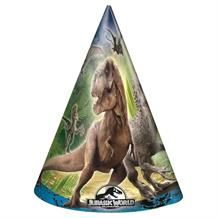 Jurassic World Dinosaur Party Favour Hats