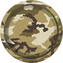 Military | Camouflage Party Cake | Dessert Plates