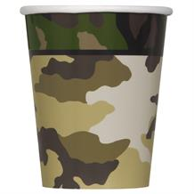 Military Camouflage Party Cup
