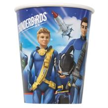 Thunderbirds Party Cups