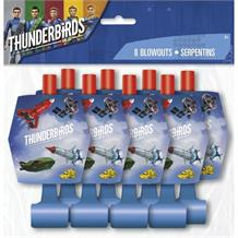 Thunderbirds Party Favour Blowouts