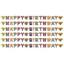 Clangers Happy Birthday Paper Letter Banner