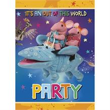 Clangers Party Invites | Invitations