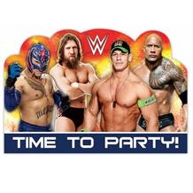 WWE Wrestling Party Invitations | Invites