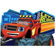 Blaze and the Monster Machines Party Invitations | Invites