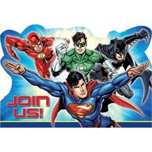 Justice League Party Invitations | Invites
