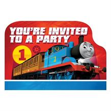 Thomas and Friends Party Invitations | Invites