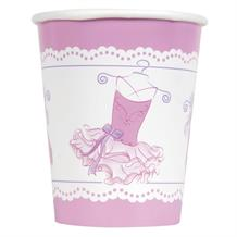 Ballerina 266ml Paper Party Drink Cups