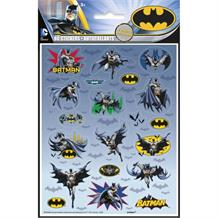 Batman Party Bag Favour Sticker Sheets